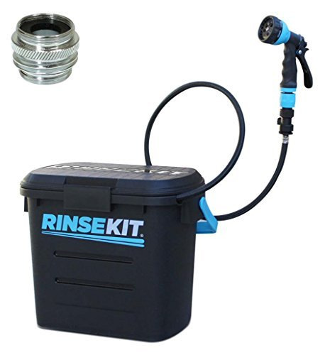 Rinse Kit Portable Sprayer with Hot Water Sink Adapter (Hot Water Sprayer compare prices)