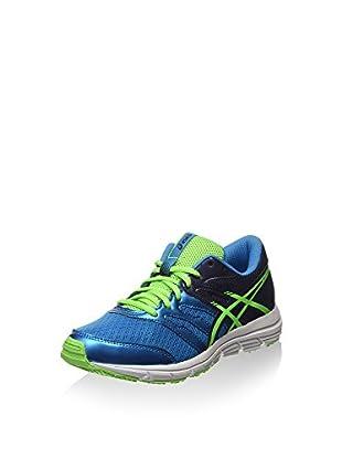 Asics Zapatillas de Running Gel-Zaraca 4 Gs (Azul / Lima)
