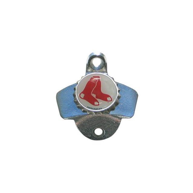 Boston Red Sox Wall Mounted Bottle Opener Major League Baseball Sport Bat Ball Team Fan Memorabilia Souvenir Base Sport  Sports Fan Baseball Equipment  Sports & Outdoors