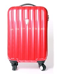 New 18 inch Ryanair and Easyjet Cabin Approved Hardshell 4 Swivel Wheels Suitcase in 5 Colours