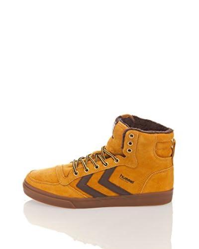 Hummel Hummel Stadil Autumn Alta Sneaker [Senape/Marrone]