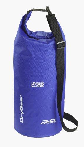 lewis-n-clark-uncharted-drygear-classic-cylinder-bag-30-litre-blue-by-lewis-n-clark