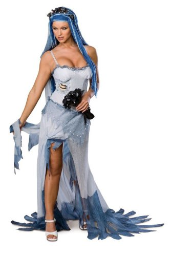 Adult Sexy Corpse Bride Md Halloween Costume - Adult Medium