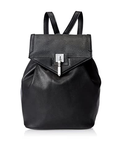 Danielle Nicole Women's Brooklynne Backpack, Black Lizard