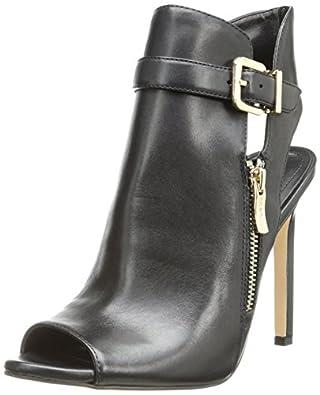 BCBGeneration Women's Chandler Dress Sandal,Black Leather,7.5 M US