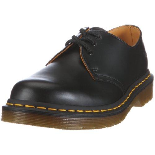 Dr. Martens Adult's 11838002 original shoe 1461z Black Smooth Z Welt 8 UK
