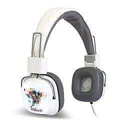 Amkette Tango FDD737WH Trubeats Tango Wired Headphone (White)