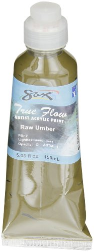 Sax True Flow Artists Acrylic - 150 Milliliters - Raw Umber