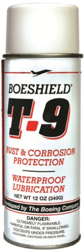 Boeshield T 9 Rust & Corrosion Protection Waterproof Lubrication 12Oz (Aerosol)