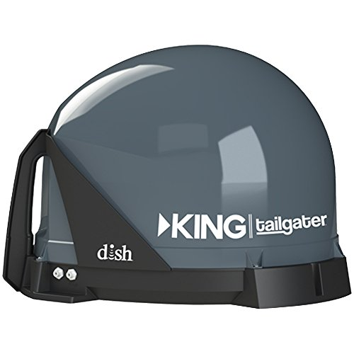Best Deals! King VQ4500 Tailgater Portable/Roof Mountable Satellite TV Antenna (For Use with Dish)