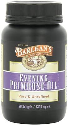 Barlean's Organic Oils Organic Evening Primrose Oil 1300 mg ea. Bottle
