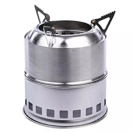 Ezyoutdoor Spirit Stove burners spirit burner Stove Burner Alcohol Head Trekking Cookset for Picnic Travel Cooking Camping BBQ with Gift Matchstick (Marine Wood Stove compare prices)
