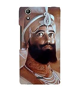 Guru Gobind Singh Ji 3D Hard Polycarbonate Designer Back Case Cover for Micromax Canvas Selfie 2 Q340