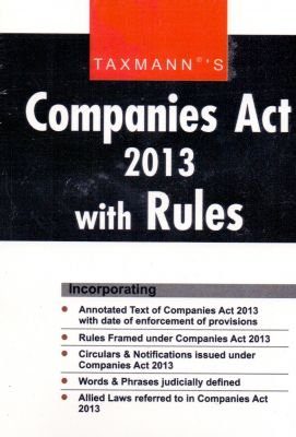 Companies Act 2013 with Rules Image