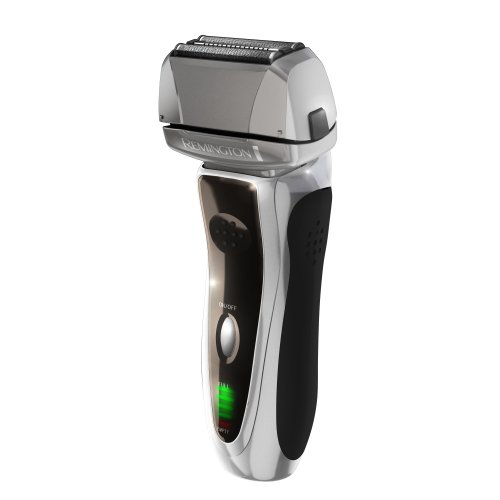 Remington Fr-730 Pivot And Flex Men'S Rechargeable Shaver With Two Flexing Foils And Intercept Trimmer, Grey