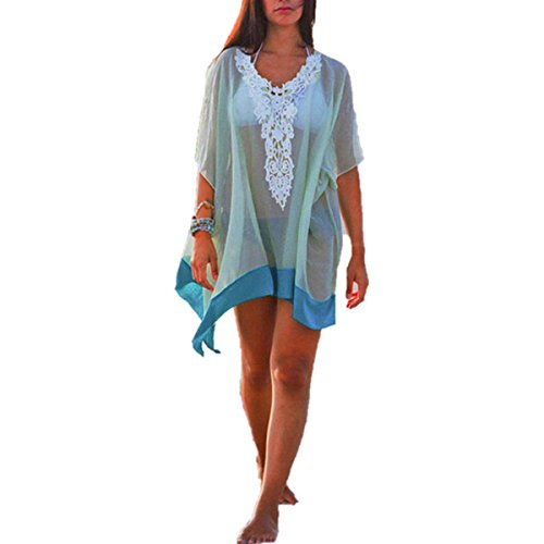 ZANZEA Women's Summer Beach Dress Bikini Swimwear Cover Up Sarong Sexy Wrap Pareo UK 18