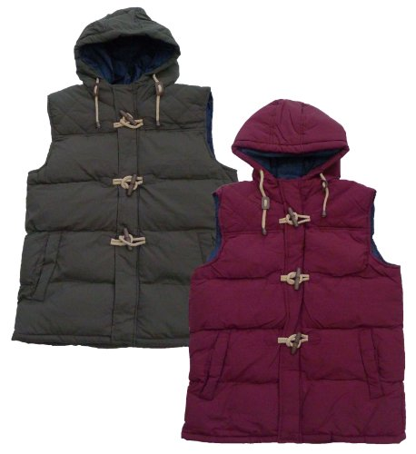 Mens Brave Soul MJK Hunter Hooded Gilet Body Warmer (Medium 38