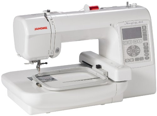 Janome MC200E Memory Craft 5x5