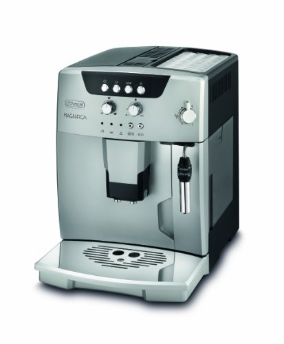 DeLonghi ESAM 04.120.S Kaffee-Vollautomat (1,8 Liter, Dampfdüse) silber thumbnail