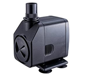 Jebao AP-399 Submersible, Hydroponics, Aquaponics, Fountain Pump 264GPH, 18W