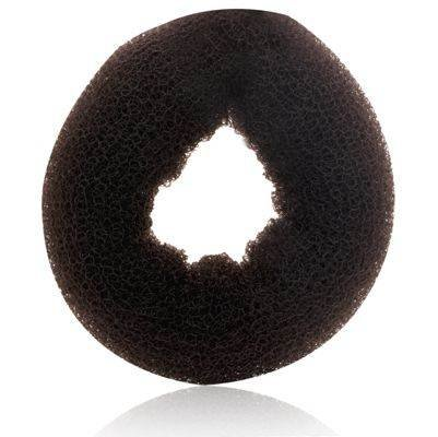 """Hair Donut Large * 3.5"""" Dia. X 1"""" Thick - Brown"""