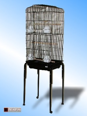SAN PABLO MAXI LARGE BIRD CAGE WITH TABLE STAND