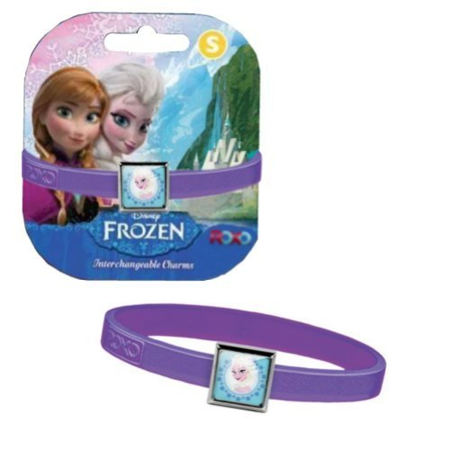 Disney Frozen Elsa Charm Bracelet - Purple