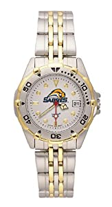 NHL Buffalo Sabres Women's All Star Watch Stainless Steel Bracelet