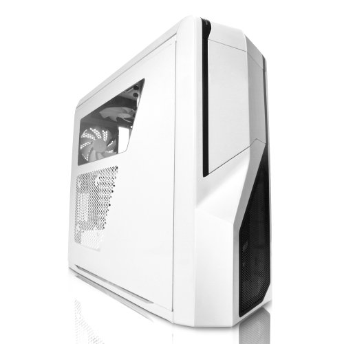 NZXT Phantom 410 Midi Tower Chassis - White Black Friday & Cyber Monday 2014