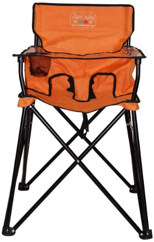 ciao! baby Portable Highchair, Orange