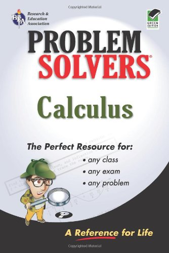 Calculus Problem Solver (Problem Solvers Solution Guides)