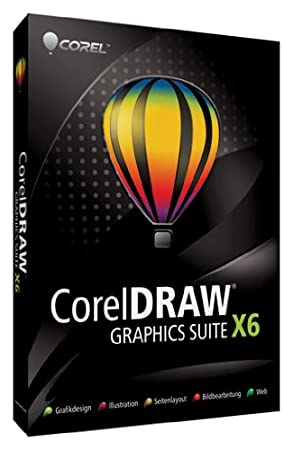 CorelDRAW Graphics Suite X6 Upgrade (ab Version X4)