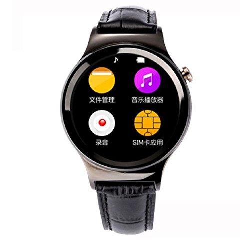 smartwatch sport kolylong zoll wasserdichte bluetooth 3 0 smart armbanduhr f r ios android. Black Bedroom Furniture Sets. Home Design Ideas