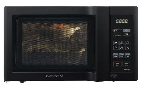 Daewoo KOR6L6BDBK 20Lt 800w Duo-Plate Digital Microwave, Black