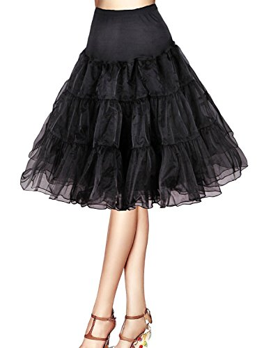 Tidetell® Vintage Women's 50s Rockabilly Tutu Skirt 26