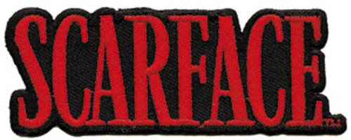 Application Scarface Logo Patch