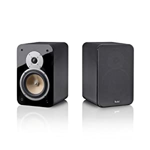 Teufel Ultima 20 Schwarz Stereo HiFi-Regal-Lautsprecher - Zweiweg-Aufbau (Paar)