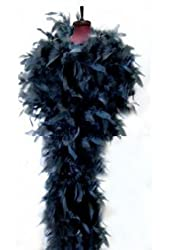 SACAS Fashion 100g Feather Chandelle Boa 6 feet long (10 colors to Pick)