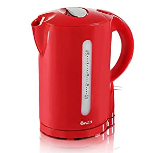 Swan STP100RED Red Kettle and Toaster Twin Pack