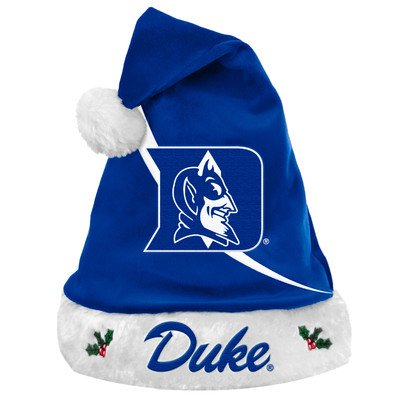NCAA Swoop Logo Santa Hat NCAA Team: Duke University Blue Devils at Amazon.com