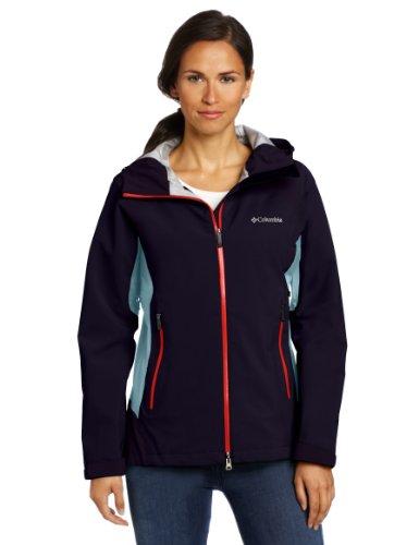 Columbia Women's Triple Trail II Shell Jacket, Ebony Blue, X-Large