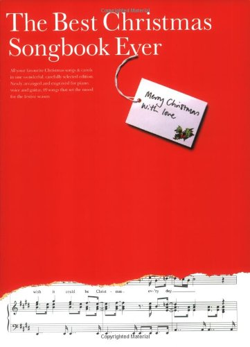The Best Christmas Songbook Ever, by Omnibus Press