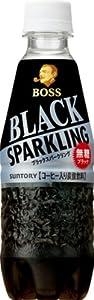 サントリー コーヒー ボス ブラックスパークリング 330ml×24本