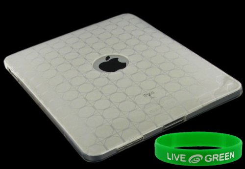 Clear Grid Design Crystal Skin TPU Case for Apple