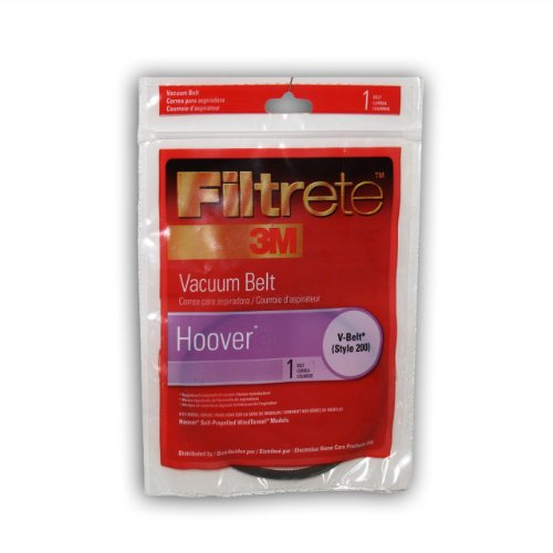 3M Filtrete Hoover V-Belt & 200 Vacuum Belt, 2 Pack