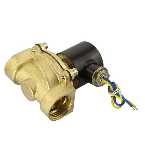 """Gadgetzone (Us Seller) 1"""" Dc 12V Electric Solenoid Valve, For Water Air Gas Oil, Industrial Process Automation Control Systems Actuator"""