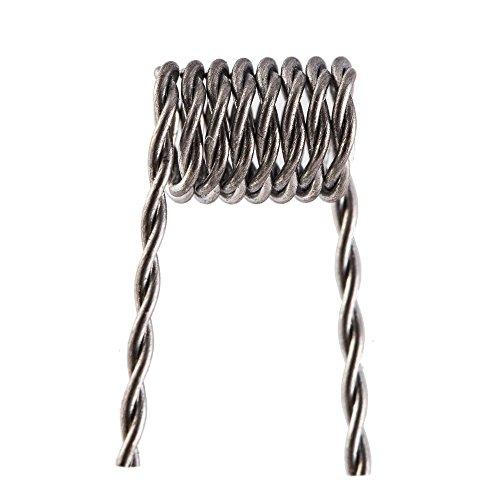 E-quip the coil kit (10) pre-built .5 ohm 26 gauge twisted coils (Vapor Ohm compare prices)