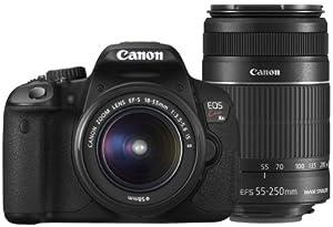 Canon デジタル一眼レフカメラ EOS Kiss X6i ダブルズームキットの商品
