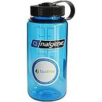 NALGENE Tritan 1-Pint Wide Mouth BPA-Free Water Bottle,Slate Blue