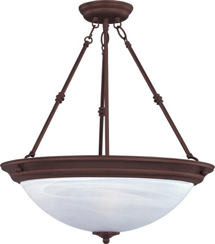 maxim-lighting-5845mroi-essentials-3-light-invert-bowl-pendant-oil-rubbed-bronze